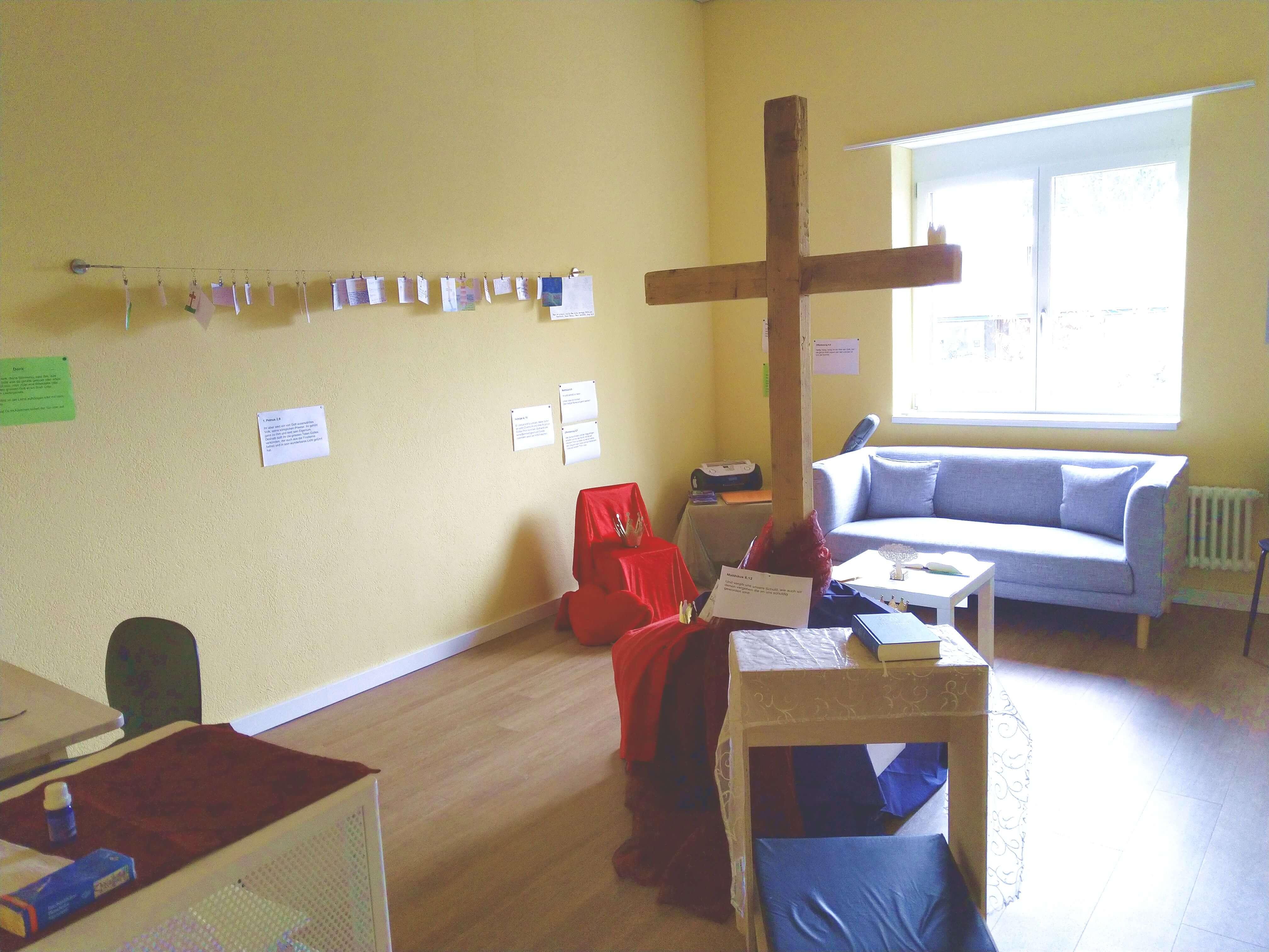 Gebetsraum 4